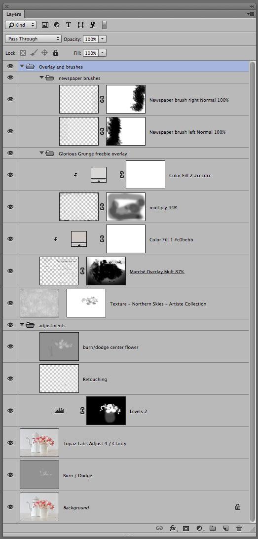 Newsprint Texture