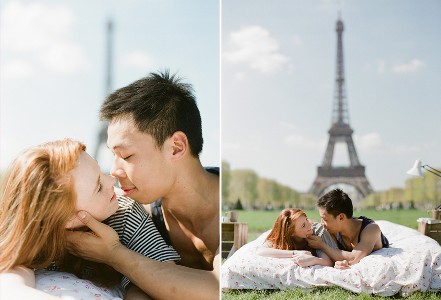 photo-shoot-at-the-eiffel-tower-with-a-bed-and-pajamas-02