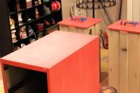 DIY: Wood Grain Filing Cabinet