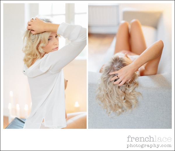 English speaking boudoir photographer
