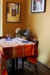 Intimate dining corners