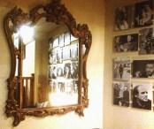 basement reception area