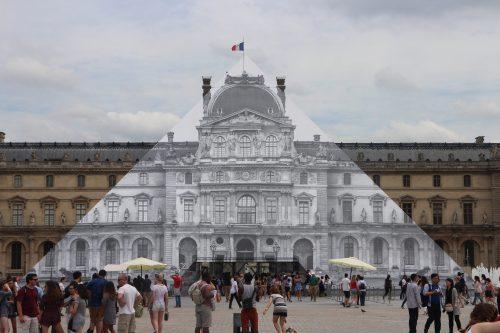 Produits scalaires, application, loi des sinus, Al-Kashi, première, Pyramide du Louvre, Paris