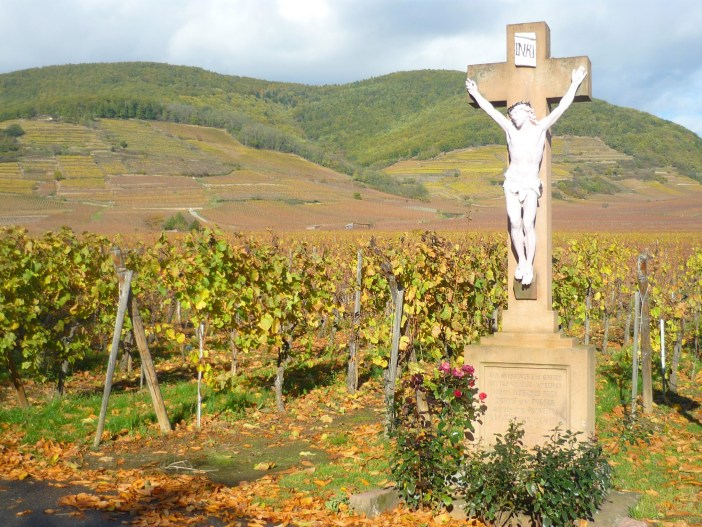Calvary in Kientzheim, Alsace © French Moments