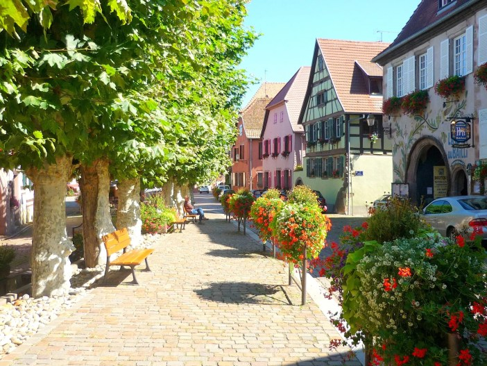 Grand'Rue of Bergheim, Alsace © French Moments
