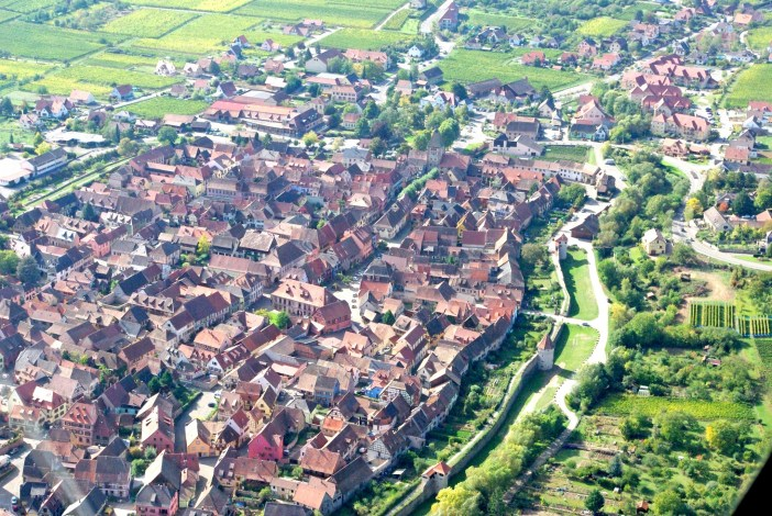 Bergheim from above © French Moments