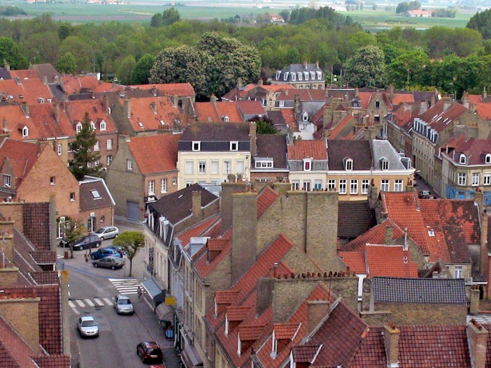 The roofs of Bergues © Michelle Martin - French Moments