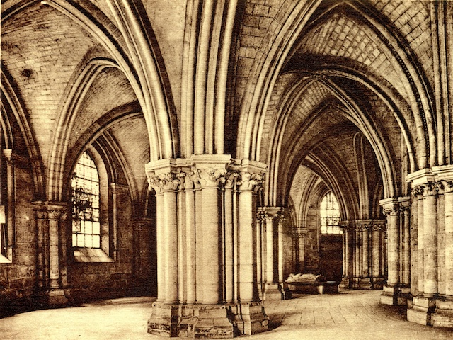 Crypt of Bourges Cathedral