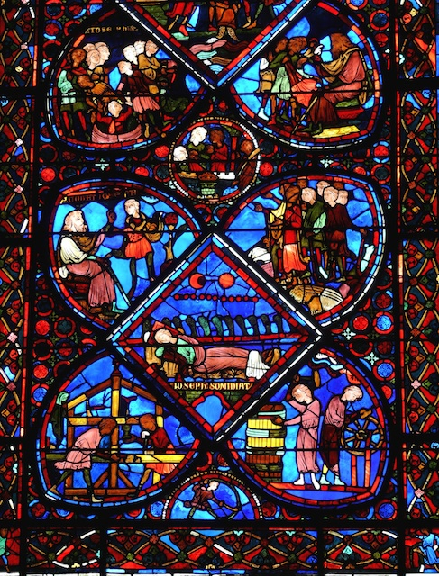 Ambulatory Windows, Bourges Cathedral © Mossot, Creative Commons (CC-BY-SA-3.0)