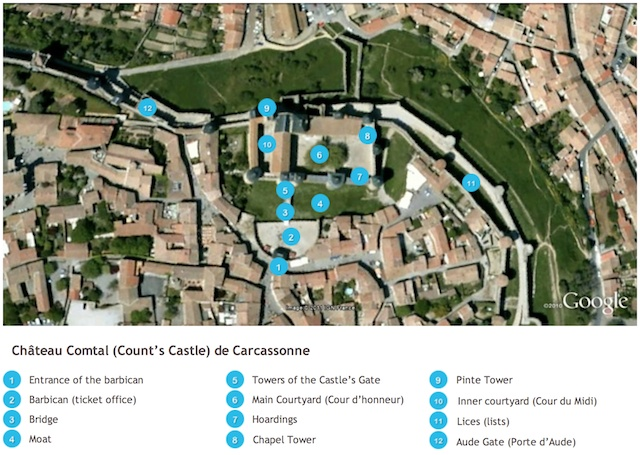 Carcassonne Castle by French Moments