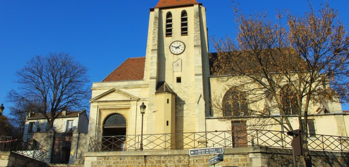 The parish church of Charonne © French Moments