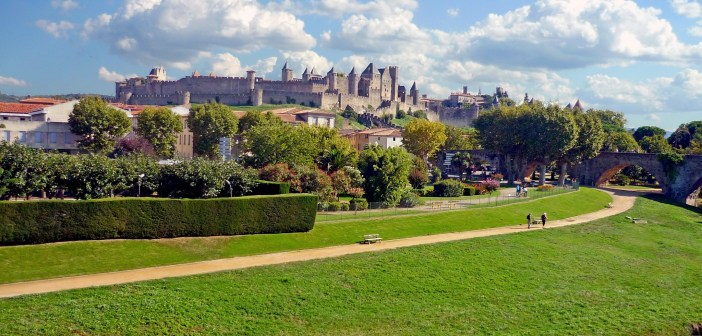Cité de Carcassonne from the Lower Town © French Moments