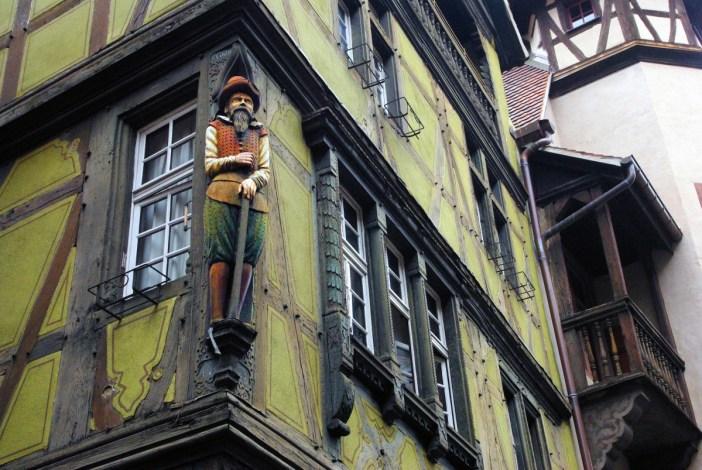 Colmar old town zum kragen