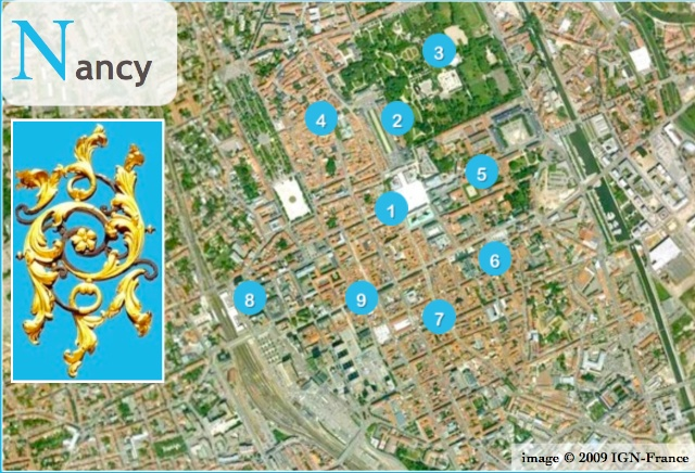 Situation Map of Nancy French Moments
