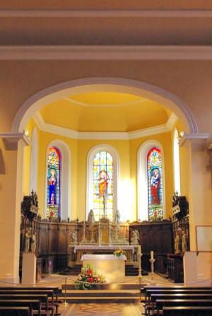 Eguisheim parish church © French Moments