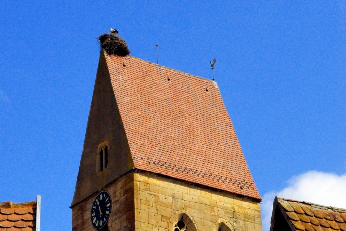 Eguisheim parish church © French Moments