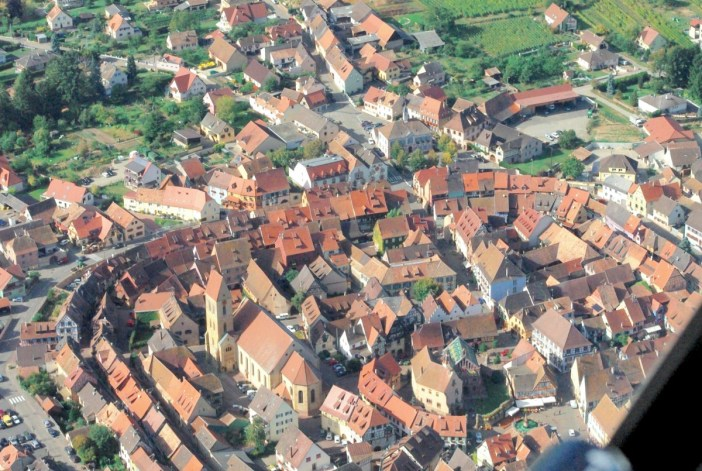 Eguisheim from above © French Moments