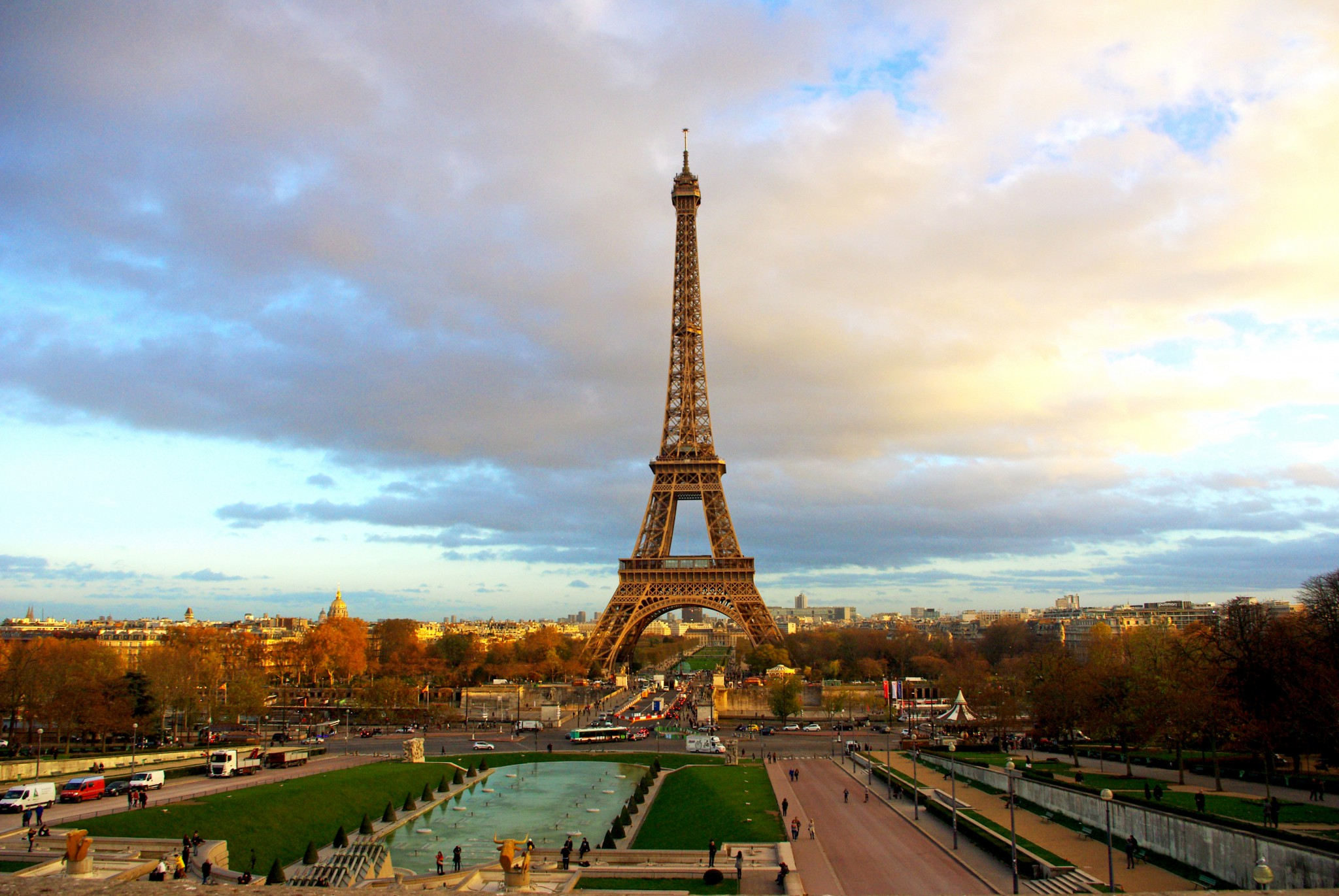 The Eiffel Tower is a beautiful sight.