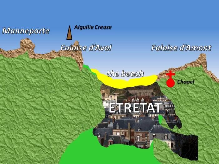 Étretat Map © French Moments