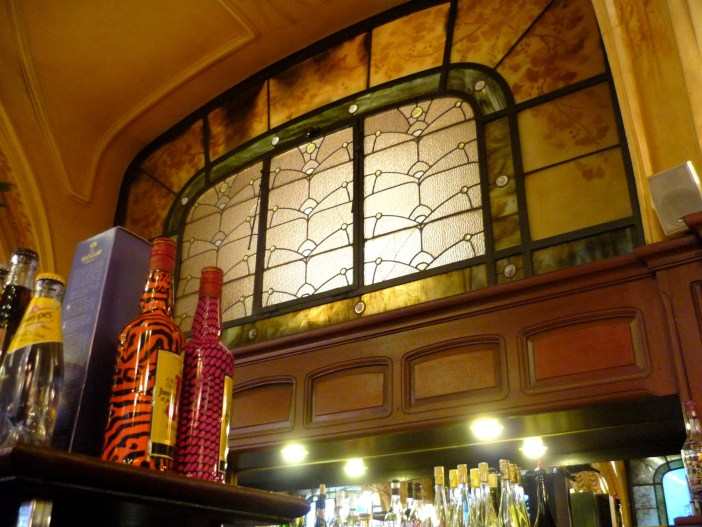 Stained-glass windows inside the Excelsior Brasserie, Nancy © French Moments