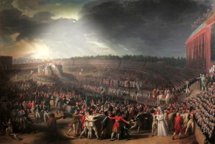 Fête de la Fédération by Charles Thevenin