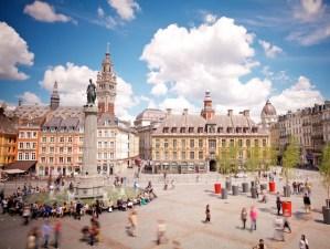 Grand Place, Lille © Laurent Ghesquière