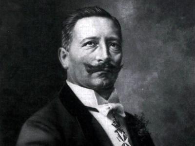 Kaiser William II in 1910