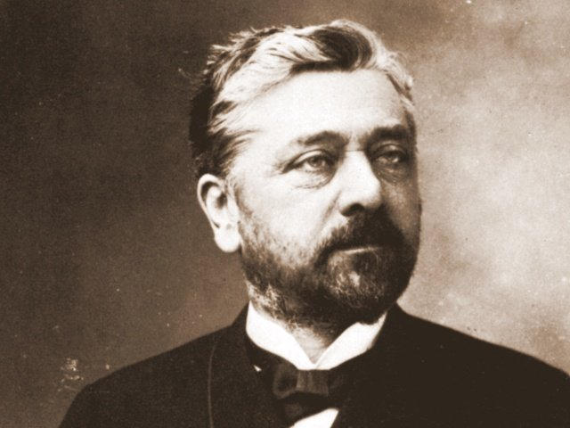 Gustave Eiffel in 1888 by Nadar