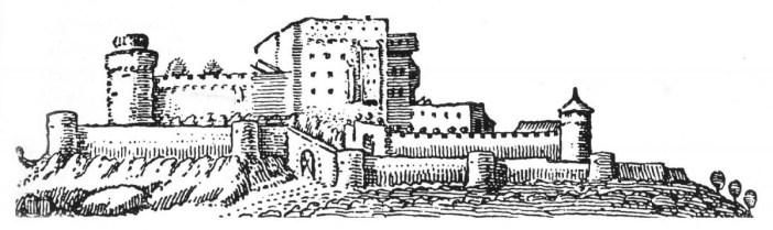Haut-Kœnigsbourg Castle in 1633