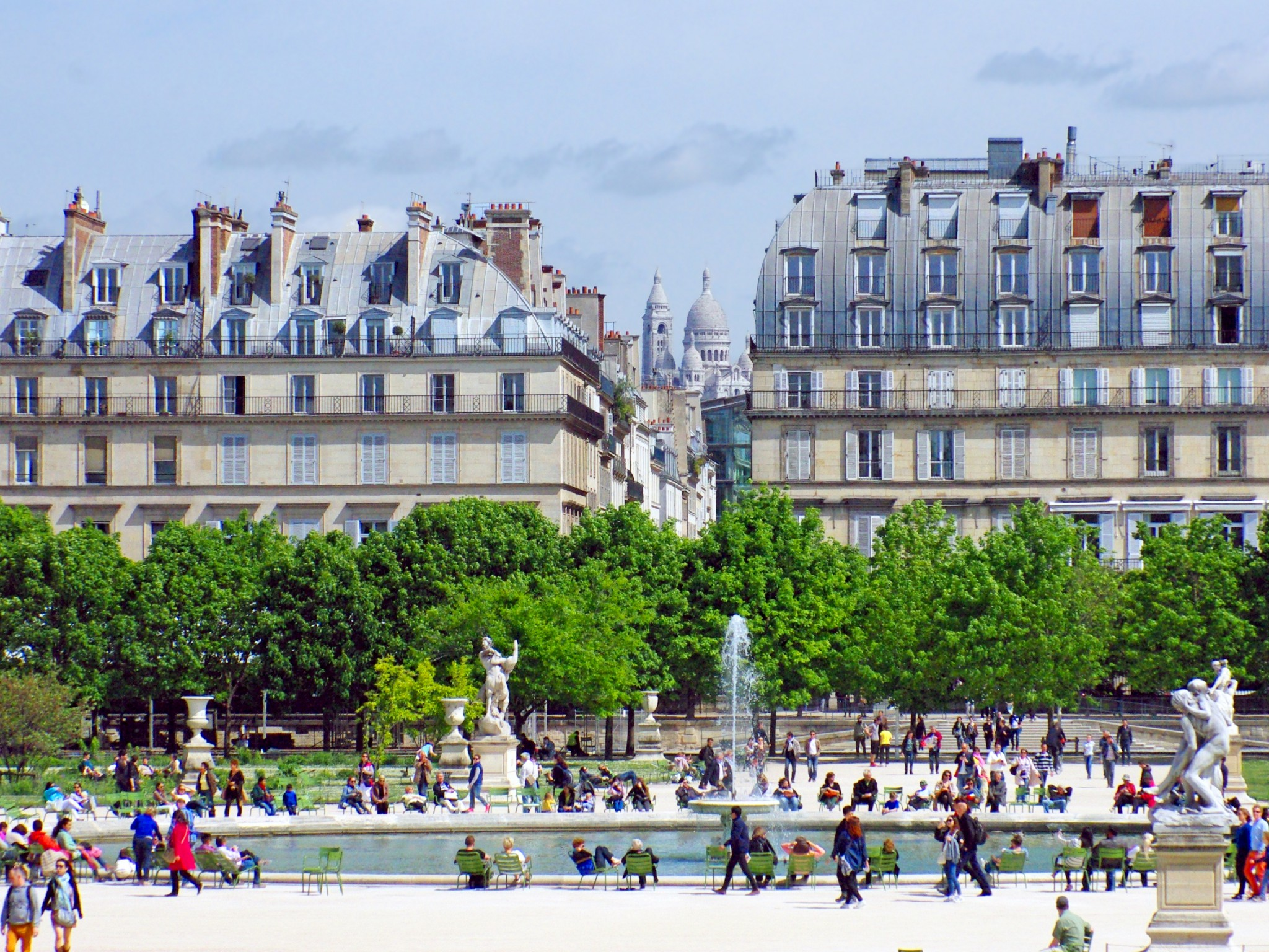 the grand basin in the tuileries garden french moments - Tuileries Garden