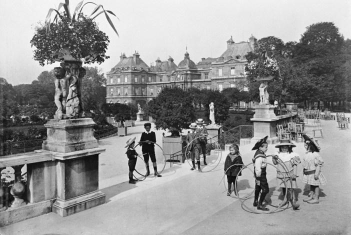 Jardin du Luxembourg circa 1900 - Séeberger frères : Centre des monuments nationaux