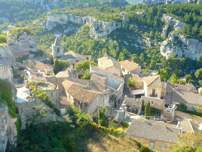 The village of Les Baux-de-Provence © French Moments