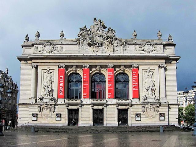 Lille Opera © Velvet, licence [CC SA 3