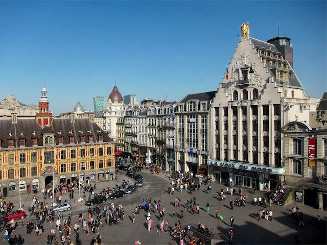 Voix du Nord Building, Grand'Place of Lille © Velvet, licence [CC SA 3