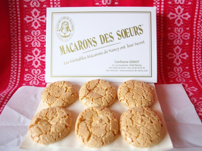 Macarons from the 'Sœurs Macarons' in Nancy © French Moments
