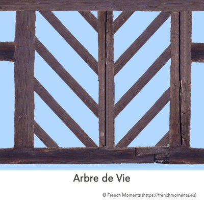 Maison Alsacienne Arbre de Vie © French Moments