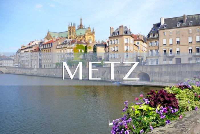 Metz, the banks of the River Moselle © French Moments