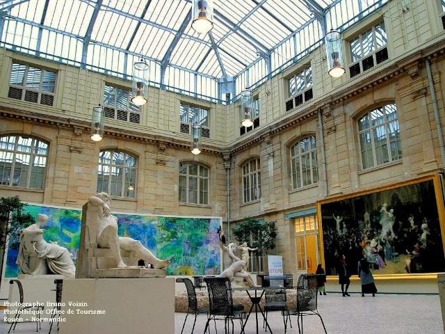 Fine Arts Museum of Rouen, galerie intérieure © B. Voisin