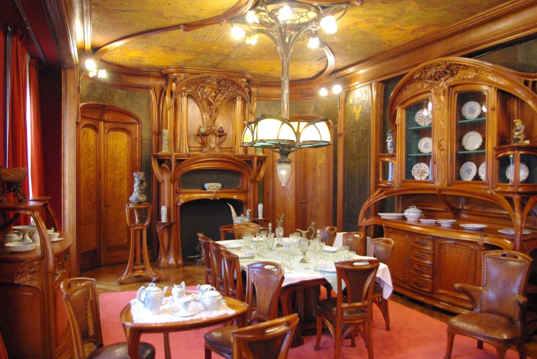 Art nouveau in nancy lorraine french moments - Cours de cuisine nancy ...