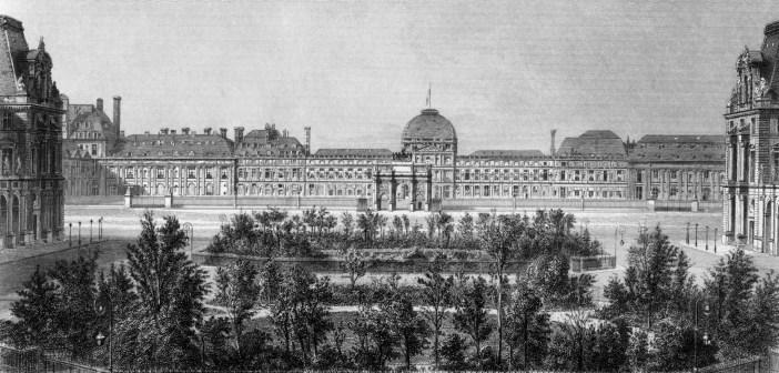 Palais des Tuileries circa 1868