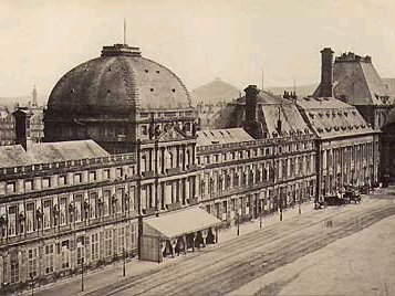 Photo of the Tuileries Palace before its destruction