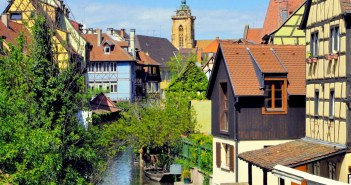 The Little Venice of Colmar seen from Pont St Pierre © French Moments