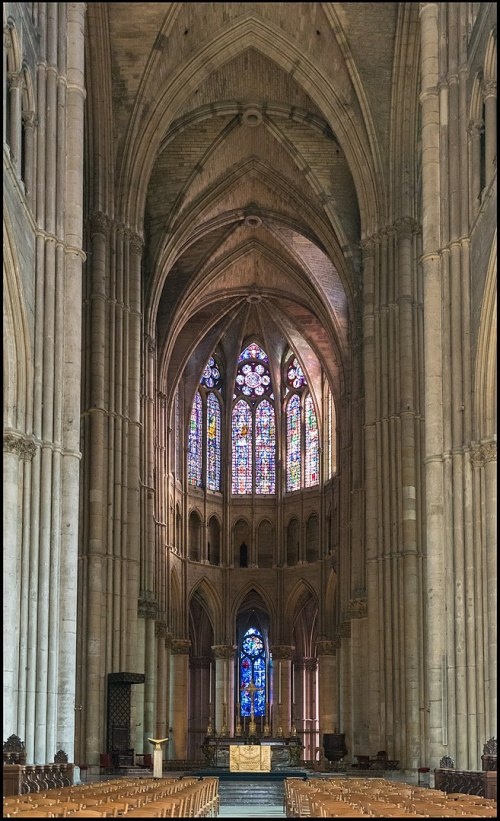Reims Cathedral Choir © DXR : Daniel Vorndran - licence [CC BY-SA 3.0] from Wikimedia Commons