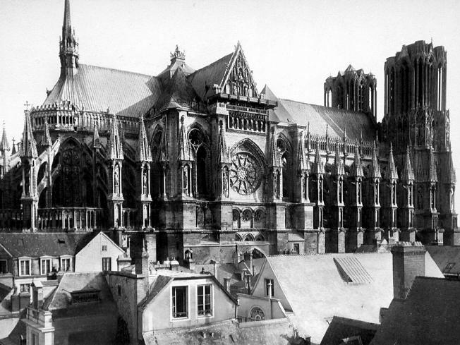 Reims Cathedral before WWI