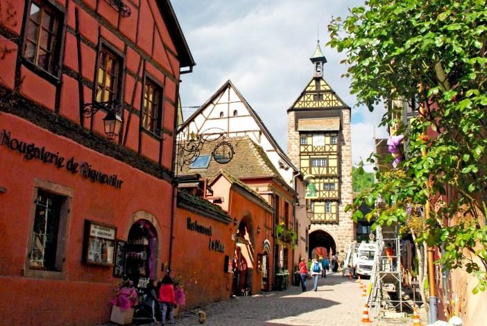 Alsace region Riquewihr