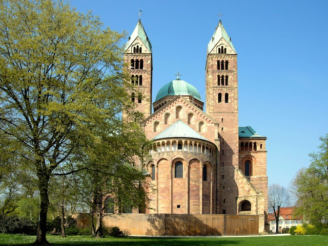 Chevet of Speyer Cathedral © Alfred Hutter