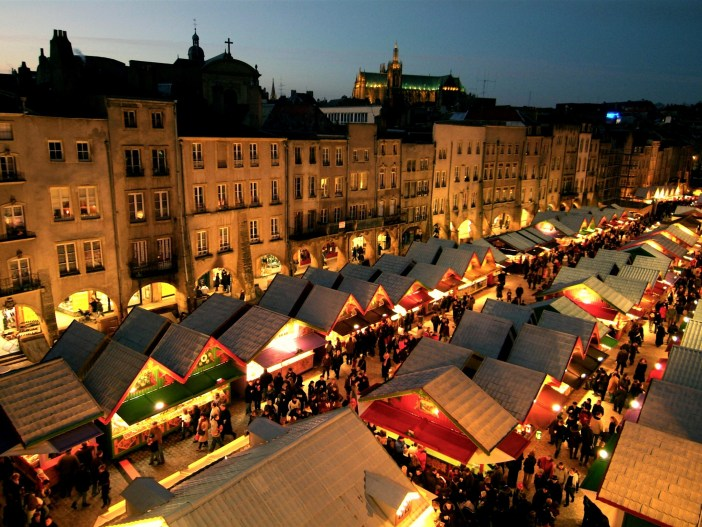 Christmas Market of Metz © Ville de Metz - Christian Legay, Marc Royer