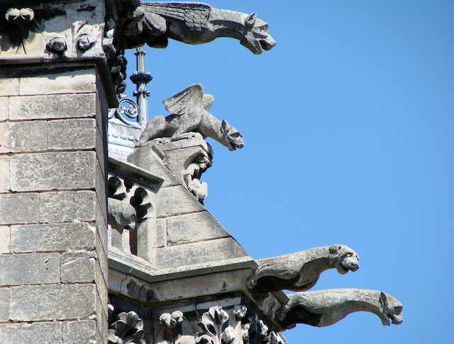Gargoyles and Chimeras, Amiens Cathedral © Vassil