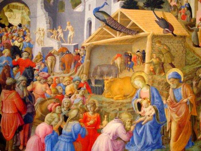 Angelico: Adoration of the Wise Men