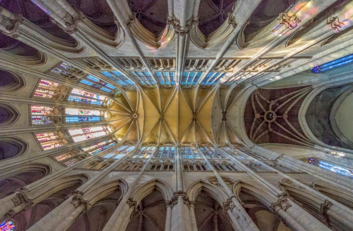 Vaults of Beauvais Cathedral - Stock Photos from Sirio Carnevalino - Shutterstock